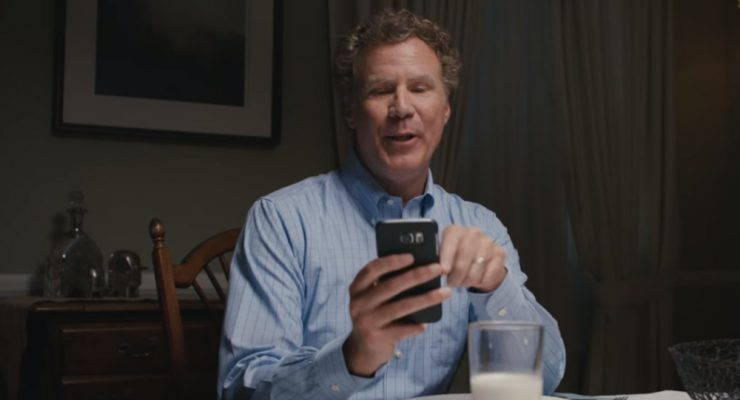 Will Ferrell Is Every Parent Texting During Dinner
